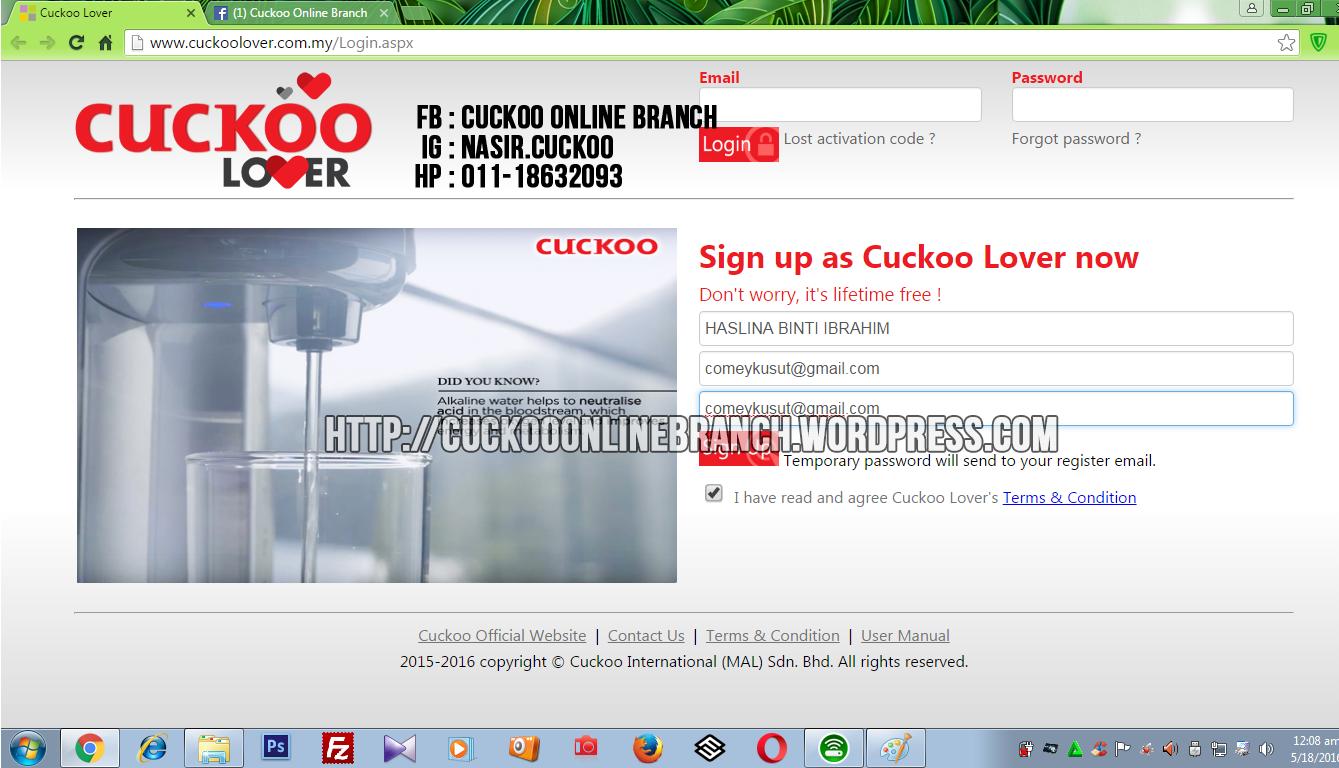 CUCKOO LOVER (1)