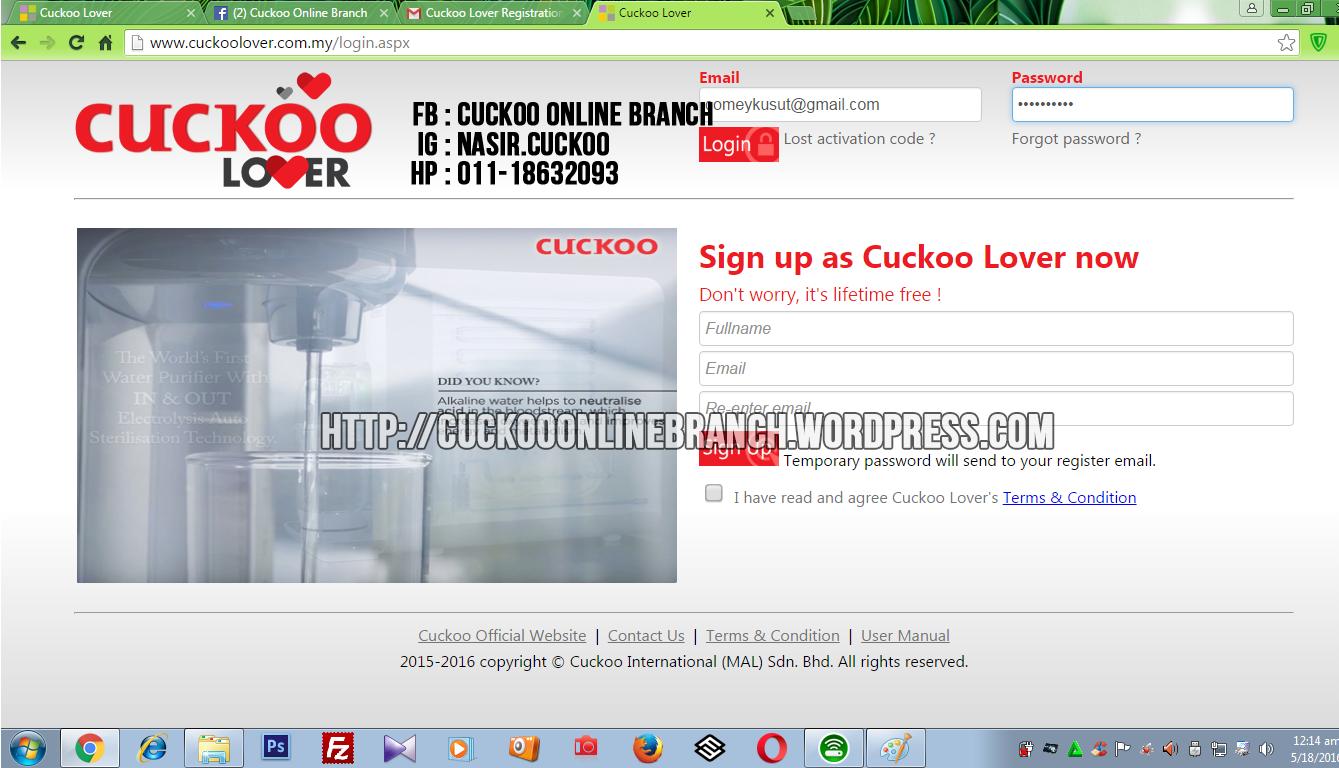 CUCKOO LOVER (5)